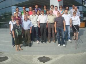 Fotografie cu cele două grupe reunite